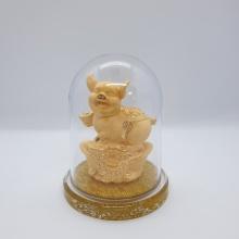 Kim Giáp Hợi - quà tặng mỹ nghệ Kim Bảo Phúc phủ vàng 24k DOJI