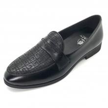 Giày tây nam loafer da bò cao cấp Lucacy Lc235BT