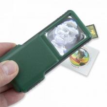Kính lúp bỏ túi có nắp trượt MiniBrite OD-95 (khuếch đại 5 lần) - hàng chính hãng