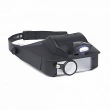 Kính lúp choàng đầu có đèn Carson LV-10 LumiVisor (2x, 3x, 5x, 6x) - hàng chính hãng