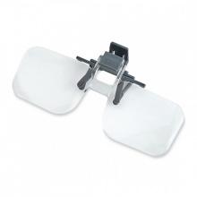 Kính lúp kẹp mắt kính Carson OD-14 Clip Flip 2x - hàng chính hãng