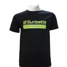 Áo thể thao cầu lông Sunbatta SMT 635 đen form training