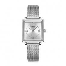 Đồng hồ nữ Julius Hàn Quốc JA-1202 dây thép mặt chữ nhật