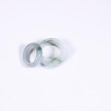Cặp nhẫn nam nữ đá cẩm thạch phỉ thúy mệnh hỏa, mộc - Ngọc Quý Gemstones