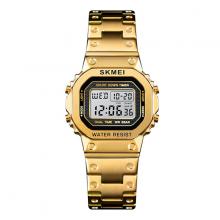 Đồng hồ nữ Skmei Điện tử Thời trang sk1433 dây thép