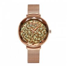 Đồng hồ nữ dây kim loại chính hãng Julius Hàn Quốc JA-1189A đồng