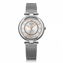 Đồng hồ nữ chính hãng Julius Star Hàn Quốc JS-028A bạc