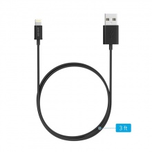 Cáp Anker MFI USB to lightning 3ft - A7101