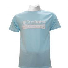 Áo thể thao cầu lông Sunbatta SMT 635 xanh nhạt Form training