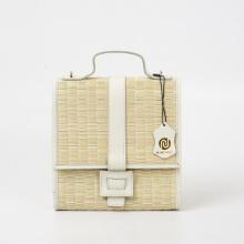 Túi cói thời trang màu trắng Nord111