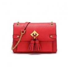 Túi da thật F70 - đỏ - R06F70