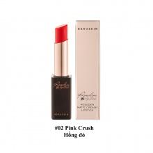 Son lì Beauskin Rosedew Matte Creamy Lipstick 02