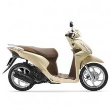Xe máy Honda Vision 2019 bản cao cấp Smartkey - vàng
