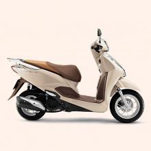 Xe máy Honda Lead cao cấp 2019 (smart key) - trắng ngà nâu