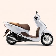 Xe máy Honda Lead cao cấp 2019 (smart key) - trắng nâu
