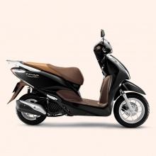 Xe máy Honda Lead cao cấp 2019 (smart key) - đen nâu