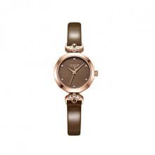 Đồng hồ nữ JS-034C Julius Star Hàn Quốc dây da