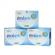 Combo 3 hộp viên uống men vi sinh Ecolacto – duy trì hệ vi sinh đường ruột, giảm rối loạn tiêu hóa