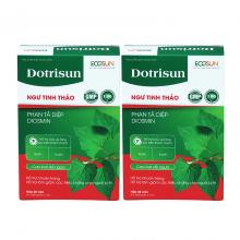 Combo 2 hộp Dotrisum – tiêu trĩ nhuận tràng, hỗ trợ giảm các triệu chứng của bệnh trĩ, ngăn ngừa táo bón