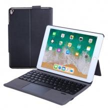 Bàn phím Bluetooth cho iPad Air10.5, Pro 10.5 có touchpad kèm bao da Promax T1091A - Black