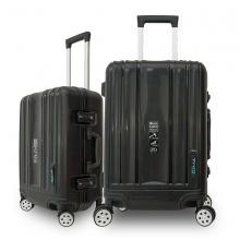 Bộ 2 vali khung nhôm Trip A09 size 50cm+60cm đen
