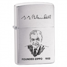 Bật lửa Zippo Brushed Chrome Founded 1932 -200FL