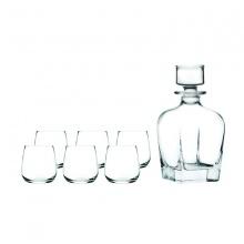 Bộ bình và 6 ly rượu Whisky Invino
