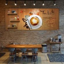 Tranh trang trí quán cà phê đẹp GDT-81