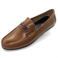 Giày mọi nam da bò cao cấp Lucacy LC08N