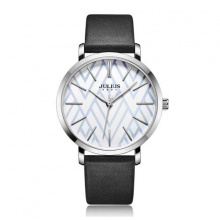 Đồng hồ nữ julius hàn quốc dây da ja-1114a