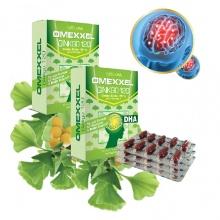 Combo 2 hộp viên uống hoạt huyết dưỡng não Omexxel Ginkgo 120 (60 viên) - chính hãng Mỹ