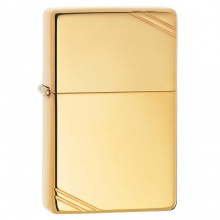 Bật lửa Zippo High Polish Brass Vintage with Slashes 270