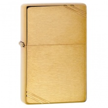 Bật lửa Zippo Vintage with Slashes Brushed Brass 240