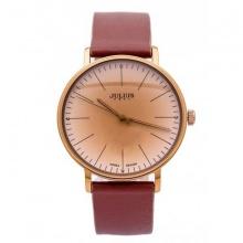 Đồng hồ nữ julius hàn quốc dây da ja-814le ju1005 nâu