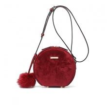 Túi xách Venuco Madrid B218 - nhung đỏ - P10B218
