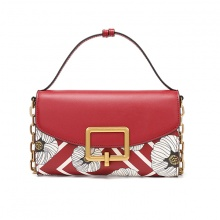 Túi xách Venuco Madrid F80 - đỏ sọc - R13F80