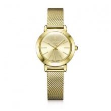 Đồng hồ nữ julius hàn quốc ja-732d ju970 dây thép vàng