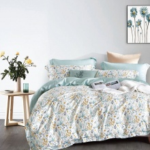 Bộ drap ga gối Lụa Tencel Modal cao cấp Maison Concept mềm mượt FLORAL TM061 (1.8m x 2m)