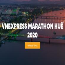 Vé Vnexpress Marathon cự ly 10KM - Huế 2020