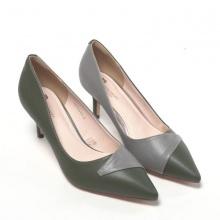 Giày cao gót Pierre Cardin PCWFWSD094GRE màu xanh