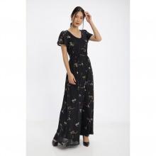 Đầm maxi họa tiết hoa nhí Md'M MD67512501-PR
