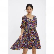 Đầm suông họa tiết hoa Md'M MD67551107-PR