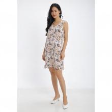Đầm suông họa tiết hoa Md'M MD67568936-PR