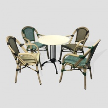 Bộ bàn ghế cafe ngoài trời BTL-GC08