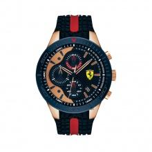 Đồng hồ Ferrari 0830591 nam dây cao su 46mm