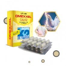 Viên uống bổ sung canxi Omexxel Calk2 (Hộp 30 viên) - xuất xứ Mỹ