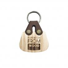 Móc khoá gỗ hình túi xách Bag Kefo