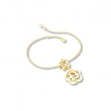 Mặt charm cung hoàng đạo Thiên Bình vàng 14K DOJI 0219P-LAL355 (không bao gồm dây)