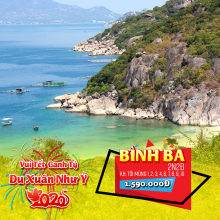 Tour đảo Bình Ba 2N2Đ Tết Nguyên Đán 2020