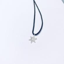 Dây chuyền mặt bạc hình hoa tuyết noel an lành 4 - Ngọc Quý Gemstones